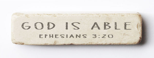 601 | Ephesians 3:20 - Twelve Stone Art