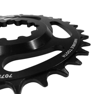 SRAM 1x11 and 1x12 Variable Tooth Direct Mount Chainrings