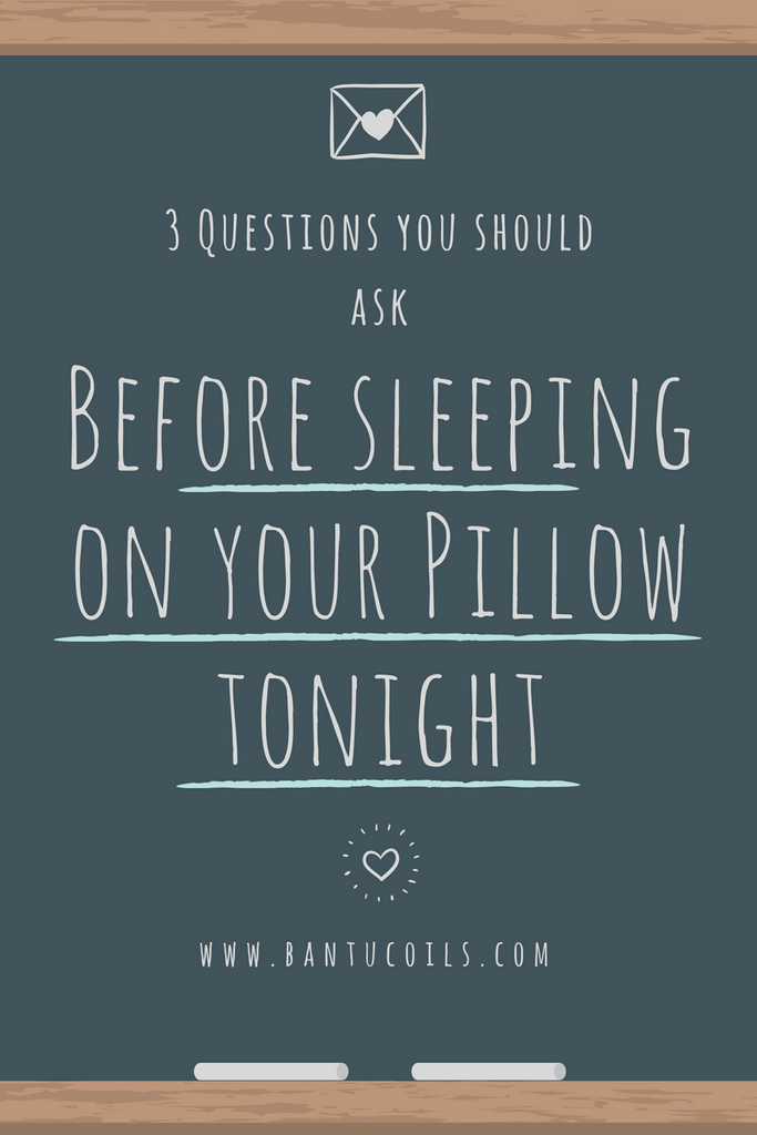 3 questions you should ask before sleeping on your pillow tonight