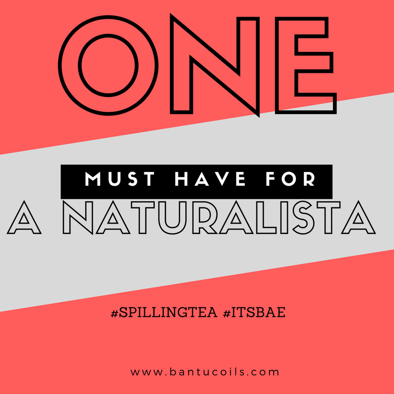 One Item every naturalista should use