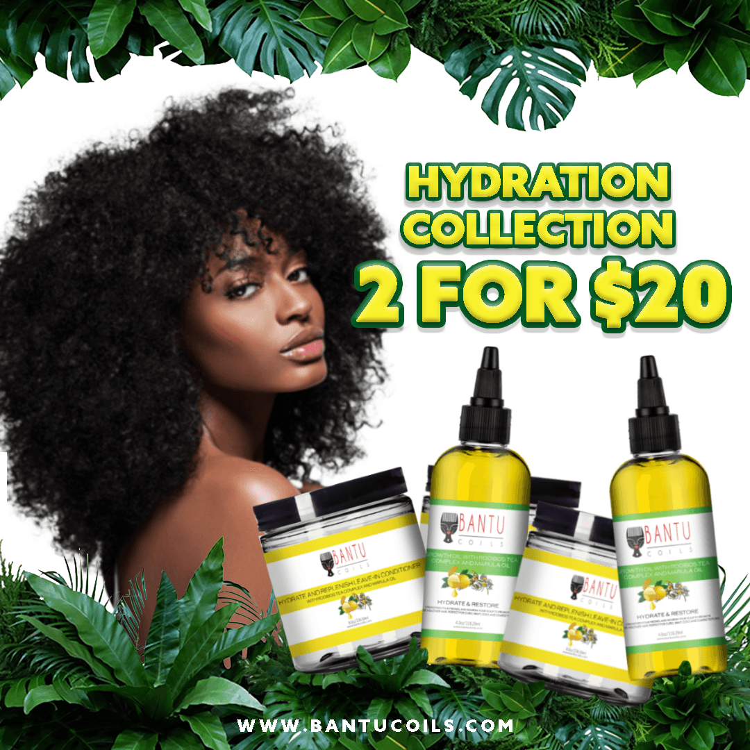 Bantu Coils Natural Hair Hydration Collection