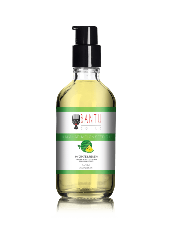 Hydrate and Nourish Pure Marula Oil and Kalahari Melon Seed Oil Bundle - Bantu Coils