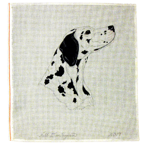 Dalmation needlepoint