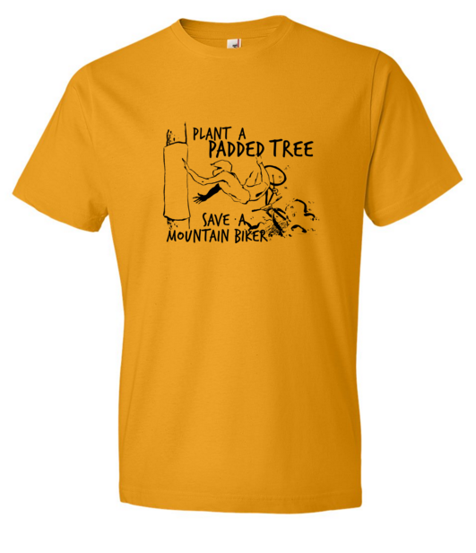 Padded Tree MTB t-shirt