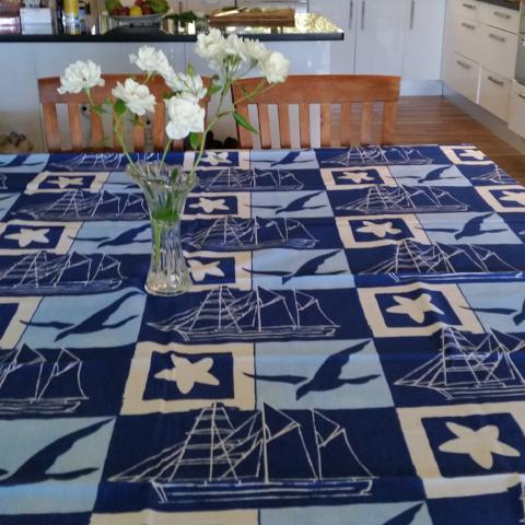 Square Beachside Tablecloth (8) Clearance - Gypsy Tableware Designs