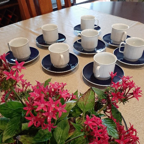 Vintage Rosenthal Coffee Cups and Saucers