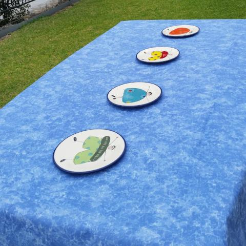 Picnic Blue - Clearance - Gypsy Tableware Designs