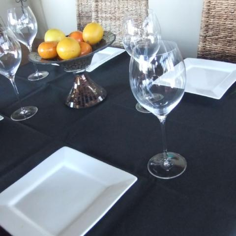Charcoal Square - Gypsy Tableware Designs