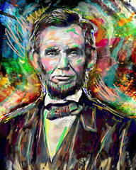 Abraham Lincoln Art, Abraham Lincoln Painting