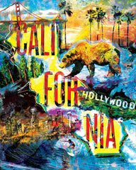 California Art, Cali Canvas, State painting