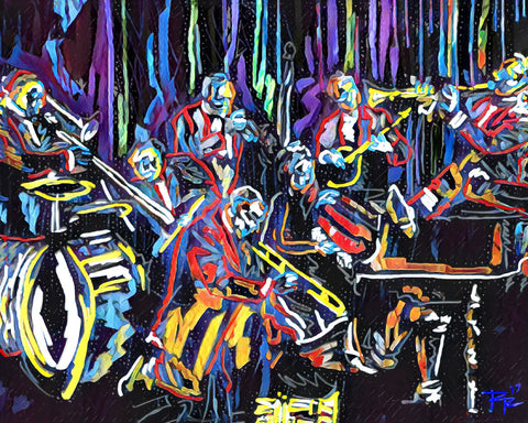 Jazz Art, Music Painting