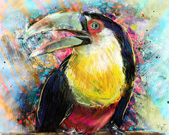 Toucan Art, Bird Painting