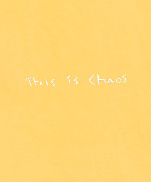 This is Chaos Tee // Yellow