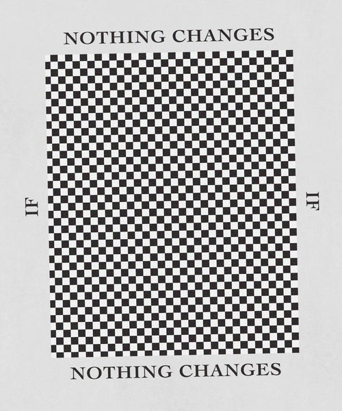 Nothing Changes Tee // Black