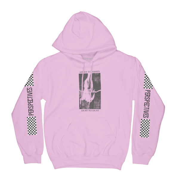 Ashes to Dust Hoodie // Pink