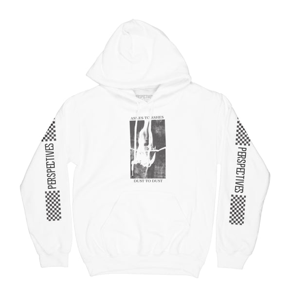 Ashes to Dust Hoodie // White