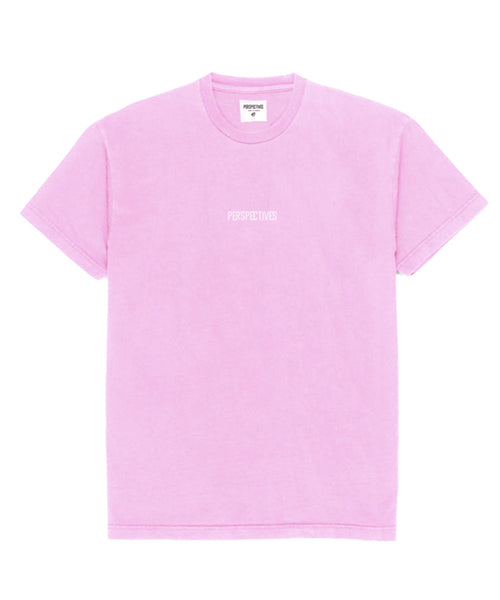 Perspectives Logo Tee // Pink