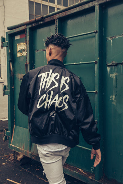 This is Chaos // Satin Bomber