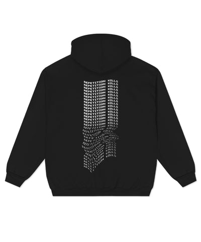 Repetition Kills Hoodie // Black