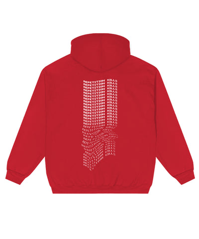 Repetition Kills Hoodie // Red