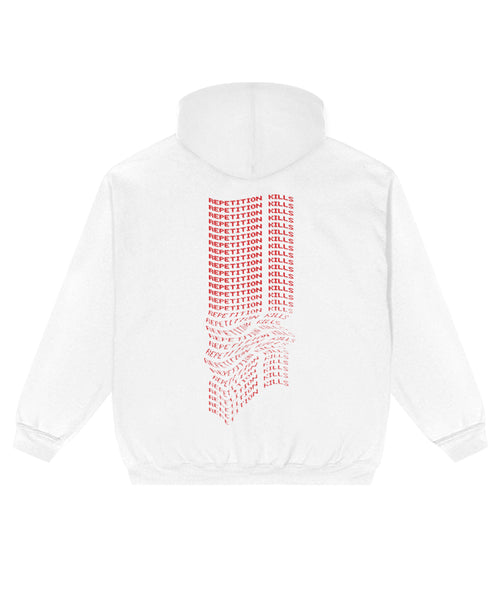 Repetition Kills Hoodie // White