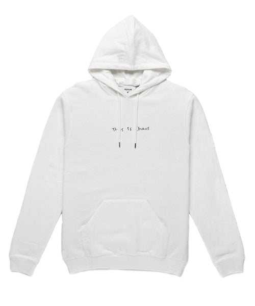 This is Chaos Hoodie // White