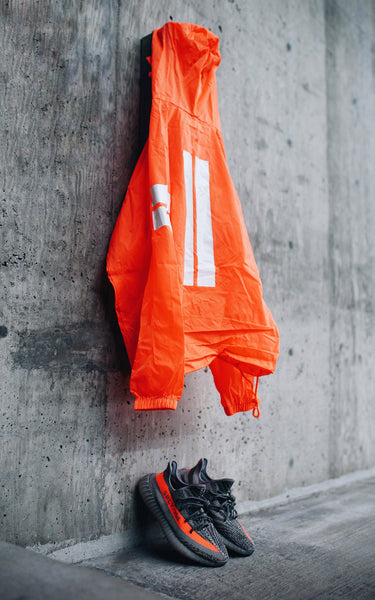 Future Lite Jacket // Orange