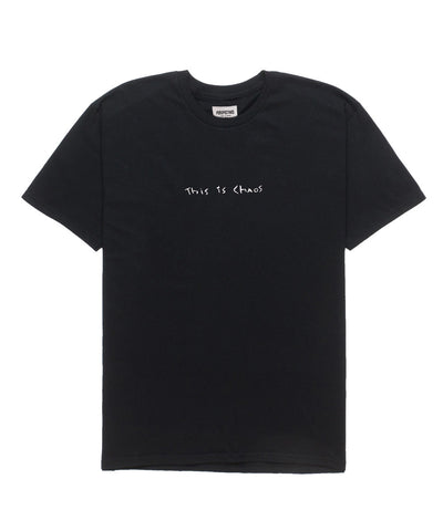 This is Chaos Tee // Black