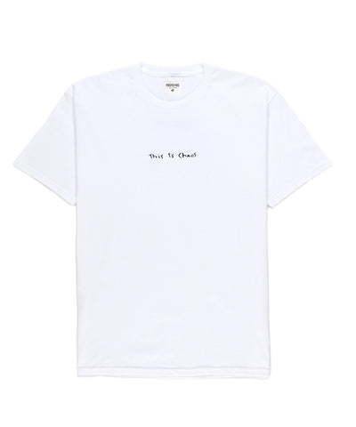 This is Chaos Tee // White