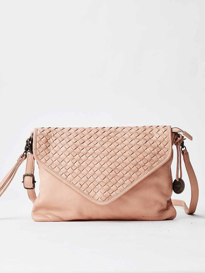 The Marseille Woven Crossbody Clutch