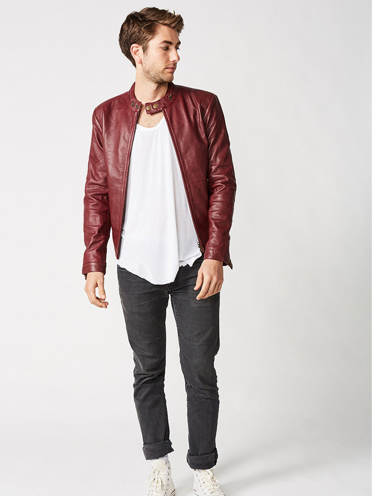 The Tokyo Moto Leather Jacket – Mens