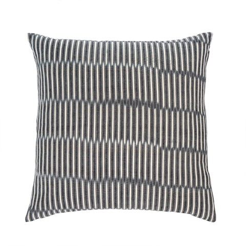 Stripe Ikat Cushion