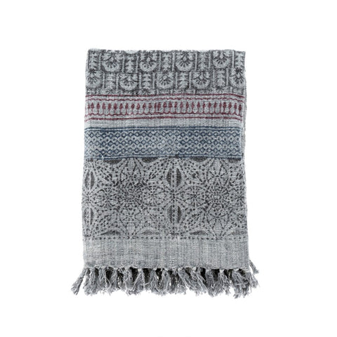 Fiona Block Print Throw