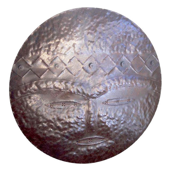 Round Metal Wall Art, Fertility God