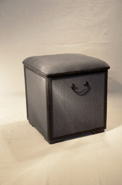 Storage Stool/Basket with Lid