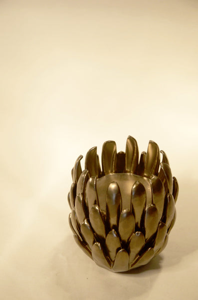 Chrysanthemum Tea Light Holder
