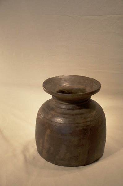 Village Milk Jug from India