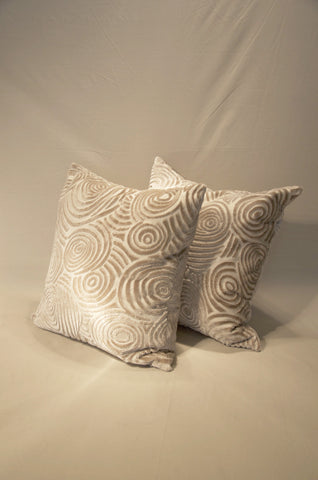 Swirl Throw Pillow, Custom Design