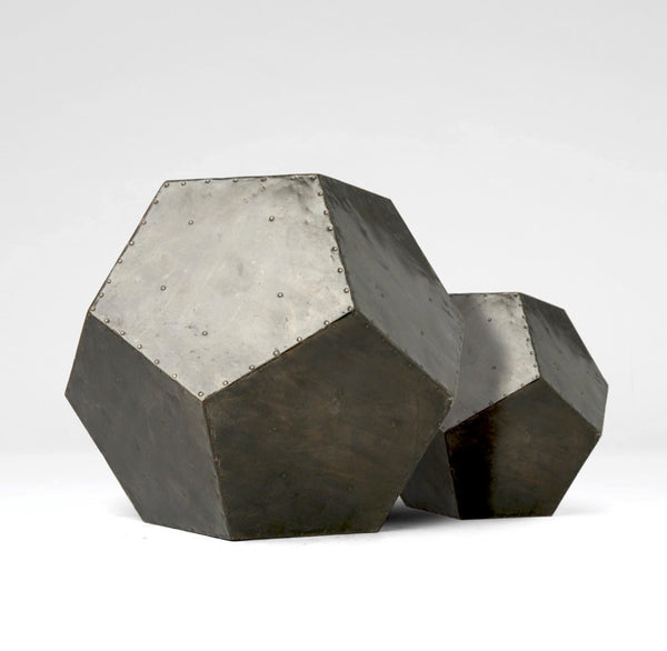 Zinc Twelve Sided Metal Object