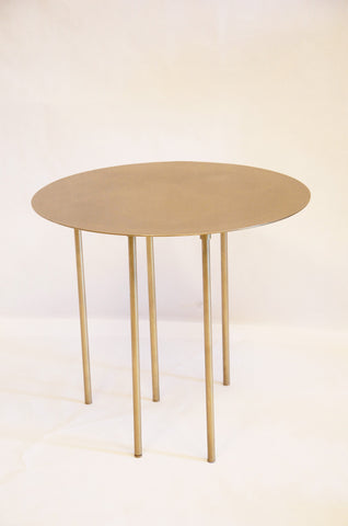 Round Brass Tables