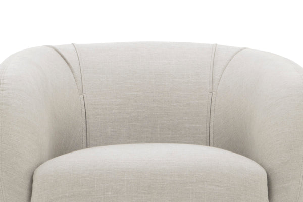 Modern Low Back Upholstered Accent Chair