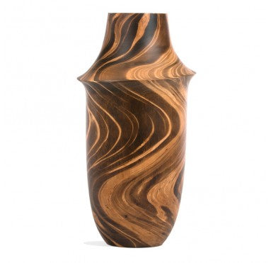 Variegated Wooden Flask
