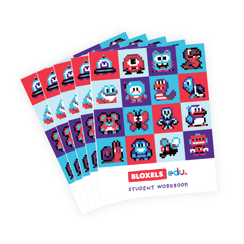 Bloxels EDU 25 Student Workbook Bundle