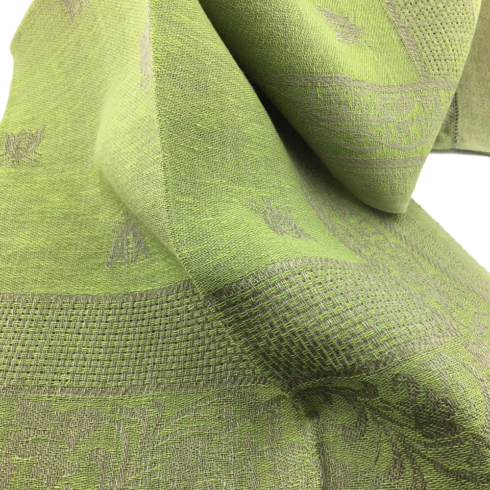 Hand Towel - Royal Bees Avocado Green