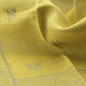 Hand Towel - Royal Bees Yellow Gold