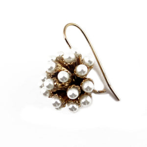 Small Pearl Burst Earrings