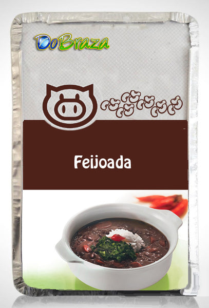 Feijoada - Brazilian Black Beans Stew with Pork