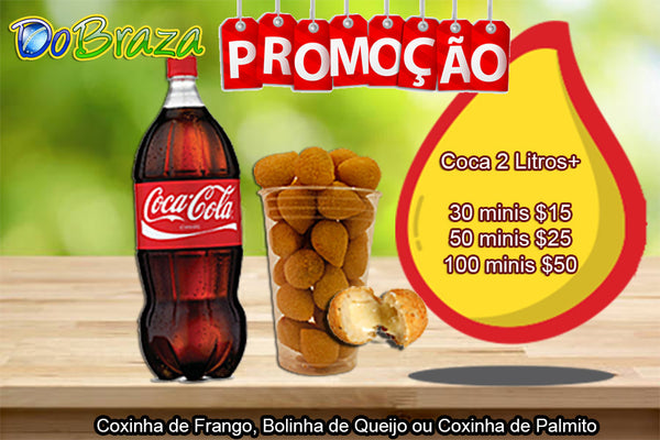 PROMOTION minis + 2 Liters Coke