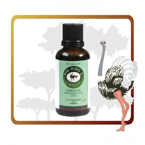 Ostrich Oil Aromatheraphy 30ml - Moncah Best