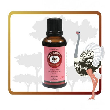 Ostrich Oil Massage Oil 30ml - Moncah Best